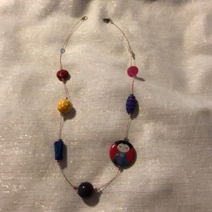 Jewelry - Hand crafted beaded necklace
